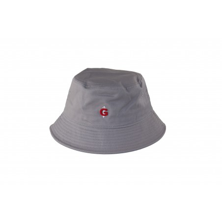 Bob gris GAULOIS® FRANCE le bob mode unisexe confectionné 100% coton