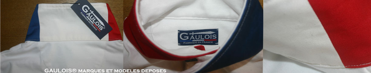 GAULOIS® polos homme manches longues 100% fabrication france 100% coton